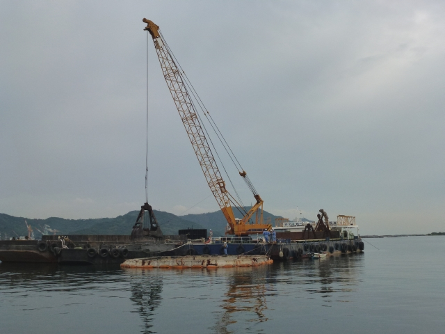 Fukura Port Anchor Block Installationイメージ