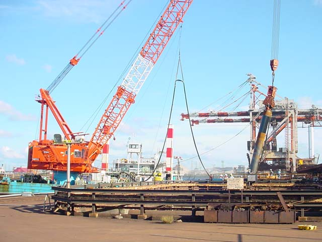 JFE Steel, EB Berth, quakeproof Constructionイメージ