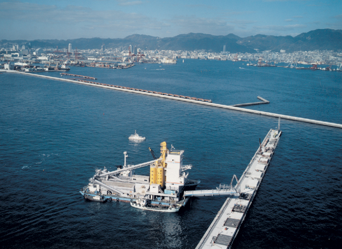 Kobe Port No.6 Pier Disaster Relief Workイメージ
